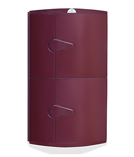 home by Nilkamal 2-Door Corner Cabinet (Maroon): Amazon.in: Home ...