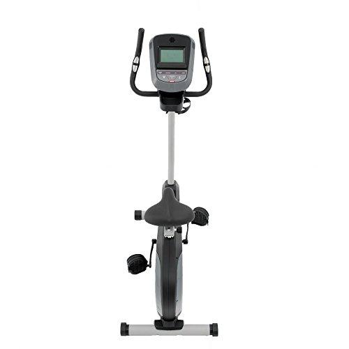 Spirit Upright Bike DBU 40 – Heimtrainer, Fitness Indoor Bike, Ergometer mit Hand-Puls-Sensoren - 3