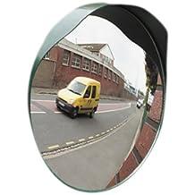 Mottez Miroir de sortie Vert 40 cm