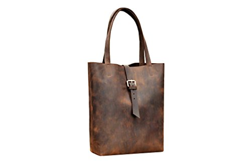 Clava Hobo (Tote Bag. Messenger Tasche für Frauen. Laptop Bag. Occidental) braun)