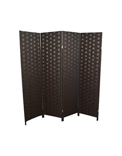 Separador de espacios plegable de 6 paneles