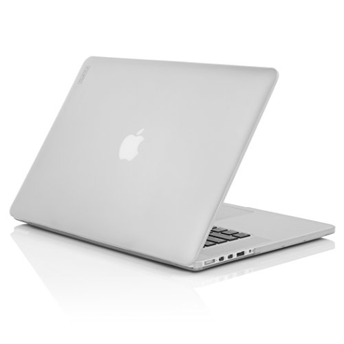 Incipio Feather Schutzhülle Extrem Dünn, Leicht und Transparent für Apple MacBook Pro 15 Zoll Retina (38,1cm) (Nicht kompatibel mit Version Late 2016) - Frost (Mac Book Pro 15 Inc Retina Case)