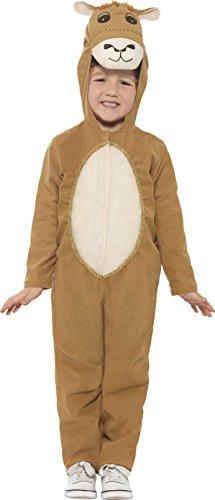 Weihnachtsmann Großbritannien Kostüm Kinder (Smiffy's 21825L - Kinder Unisex Kamel Kostüm, Alter 10-12 Jahre, One Size,)