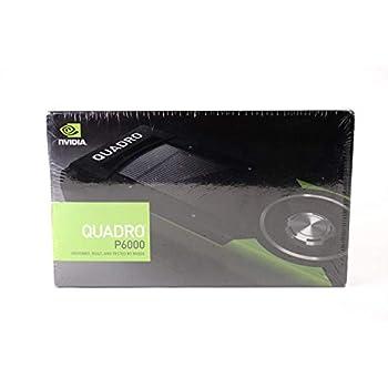PNY nVidia Quadro P6000 Scheda Grafica da 24 GB, 3840 Cuda Core, Nero