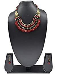 Bagaholics Necklace Set/Jewellery Set With Earrings For Women/Girls