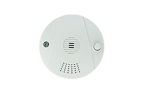 LUPUSEC Hitzemelder für die XT Smarthome Alarmanlagen, Meldet Feuerentwicklung in Bädern oder Küchen, batteriebetrieben, Energieklasse A, 12018