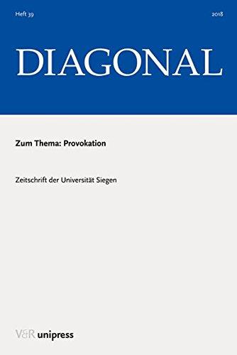 Provokation (DIAGONAL, Band 2018)