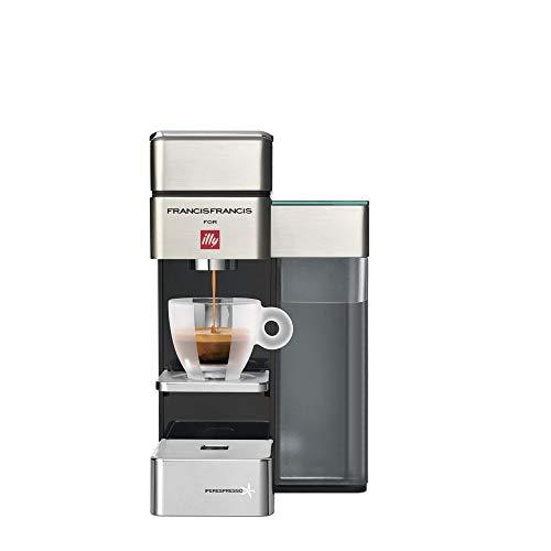 illy – 6739 – Kaffeemaschine für Kaffeepad, 19 bar, 1250 W, Satin