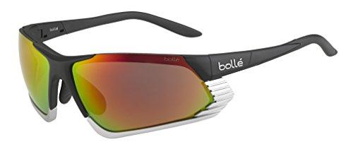 Bollé (CEBF5) Cadence Gafas, Unisex Adulto, Negro (Matte) / Silver, L