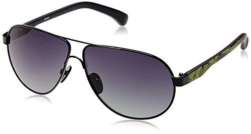 Fastrack Aviator Sunglasses (Black) (M133BK1) image