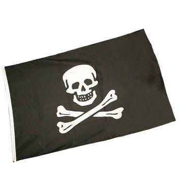 ck Pirat (45 x 30 cm) Piratenflagge (Teschio Halloween)