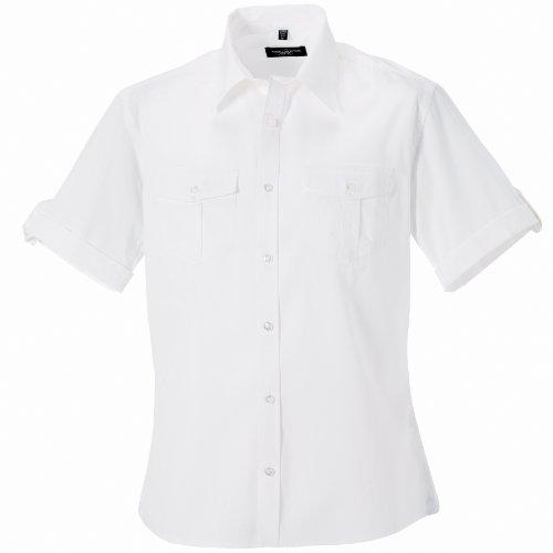 Russell - Camicia Maniche Corte - Uomo Azzurro