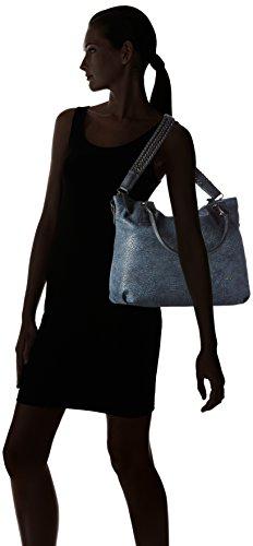 Gabor - ISKA, Borsa shopper Donna Blu (Blu (blau 50))