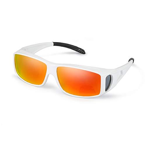 IGnaef Grande Gafas Sol Polarizado Gafas Graduadas