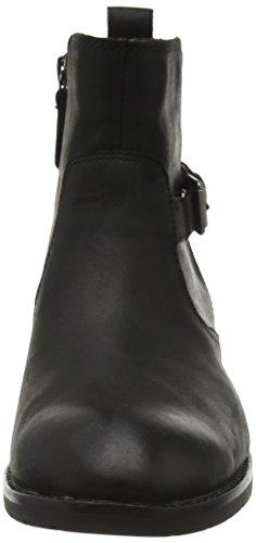 Sebago Nashoba Low, Bottes Classiques Femme Noir (Black Leather Wp)