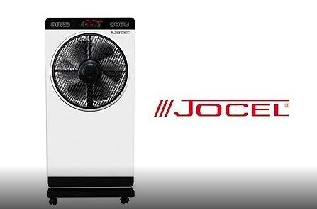 Jocel JVAP030511 - Ventilador nebulizador, 80 W, color negro