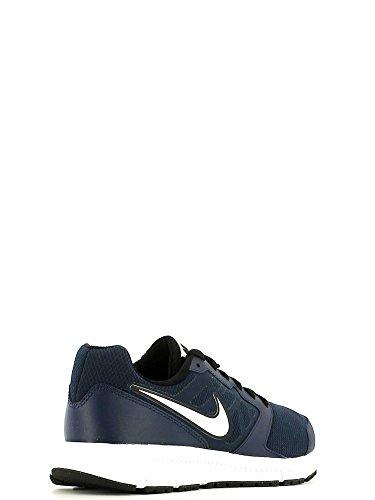 Nike Downshifter 6, Chaussures de course homme Blau / Weiß / Schwarz (Dunkelblau / Weiß-Schwarz-Weiß)