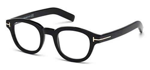 Tom Ford - FT 5429, Rechteckig, injektiert, Herrenbrillen, Sombre(001), 45/23/145
