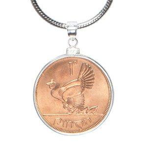 Lucky Irish Medaille pendant-mint One penny-perfect Geschenk (Lucky Irish Penny)