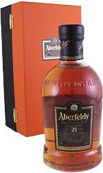 ABERFELDY 21 Year Old Scottish Malt 70cl Bottle from Aberfeldy