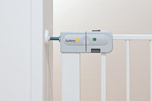 Safety 1st Auto Close Treppenschutzgitter, selbstschließend aus jedem Winkel, Türschutzgitter zum Klemmen, weiß, bis 136 cm verlängerbar - 6