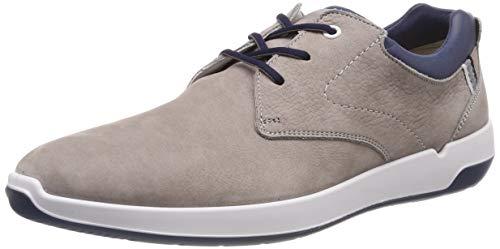 LLOYD Herren Achilles Sneaker, Grau (Smoke/Midnight Blue 1), 43 EU