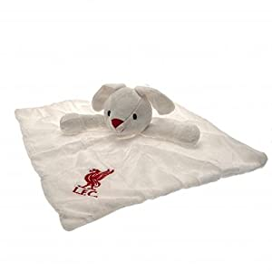 Baby Security Blanket - Official Liverpool FC Baby Comforter Bunny - Novelty Baby Football Gift Ideas from ONTRAD Limited