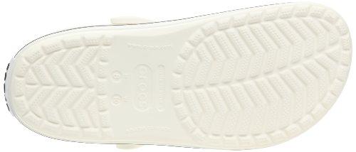 Crocs Crocband Sabot U, Ciabatte Unisex Adulto Bianco (White)