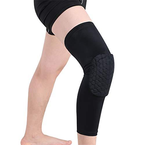 Einstellbare Knieschutz, Kniekompressionsmanschette, Arthritis-Knieorthese, Knieschützer, Ideal für Gelenkschmerzen, Arthritis, Laufen und Sport (1 Paar),XXL (Arthritis Für Xxl Knieorthese)