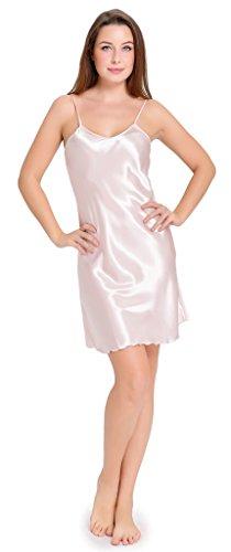 aibrou-damen-nachthemd-edle-nachtwasche-negligee-aus-satin-lingerie-klassische-nachtkleid-morgenmant