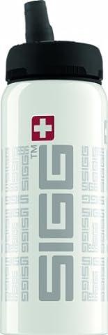Sigg Trinkflasche Nat nificant, Weiß, 0.6 Liter, 8456.10