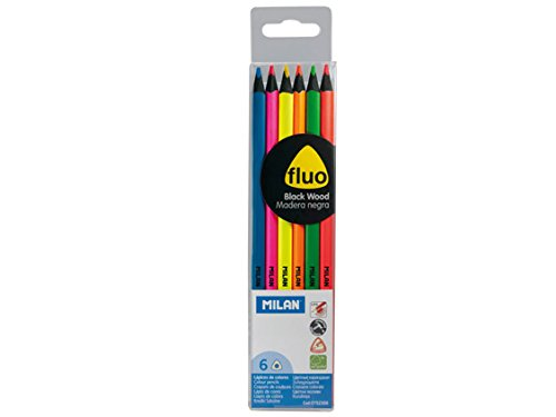 MILAN Neon Pencil (Pack of 6)