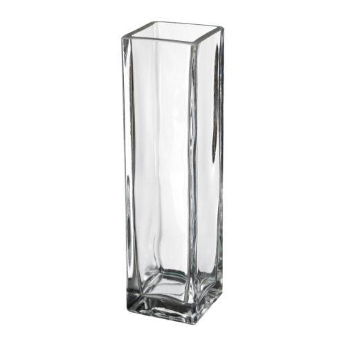 excellent-finish-square-clear-glass-tank-vase-21-cm