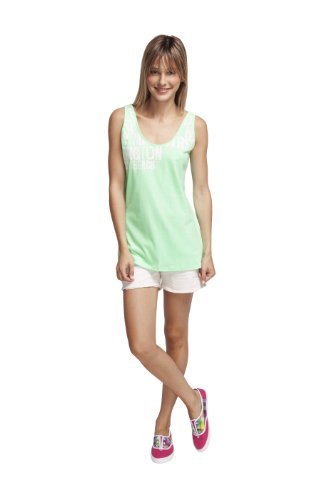 Roxy Wild at Heart T-shirt pour femme Vert - V Rock Your Soul Out Lime