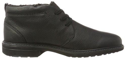 Ecco Herren Turn Chukka Boots Schwarz (Black)