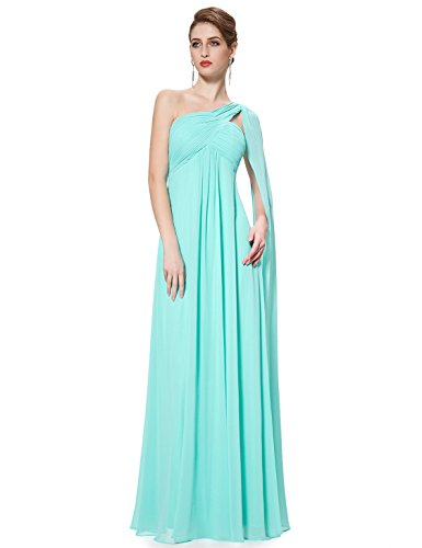 Ever Pretty Women's One-Shoulder Sleeveless Evening Dress