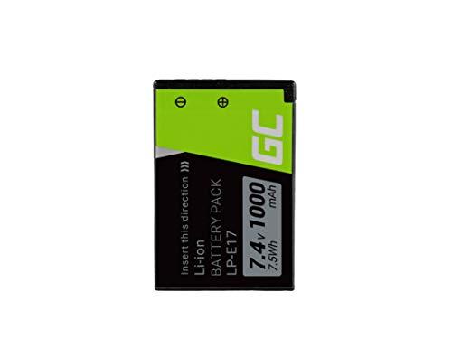 Green Cell® LP-E17 LP-I7 LP-l7 Batería Canon EOS