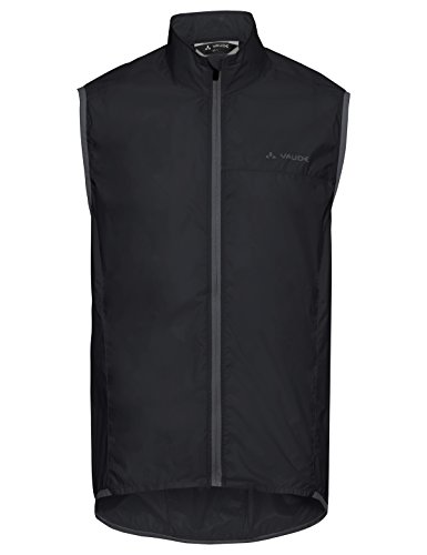 Vaude Herren Air Vest III Weste, Black, L Windstopper