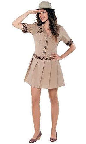 Zoowärter Kostüm Damen - Fyasa 706240-t04Safari Girl Kostüm,
