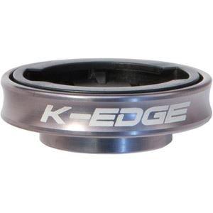 K-EDGE Unisex- Erwachsene Garmin Computer Mount Gravity Cap Halterungen, Gunmetal Anodize, One Size