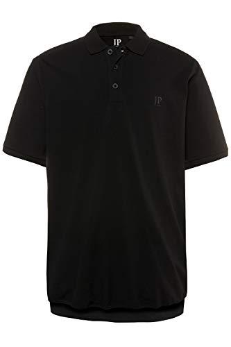 JP 1880 Herren große Größen bis 8XL, T-Shirt, Poloshir, JP1880-Brustdruck, Bauchshirt, Piqué, schwarz 6XL 712617 10-6XL -