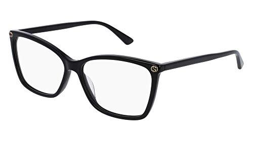 Gucci Frame - BLACK-BLACK-TRANSPARENT