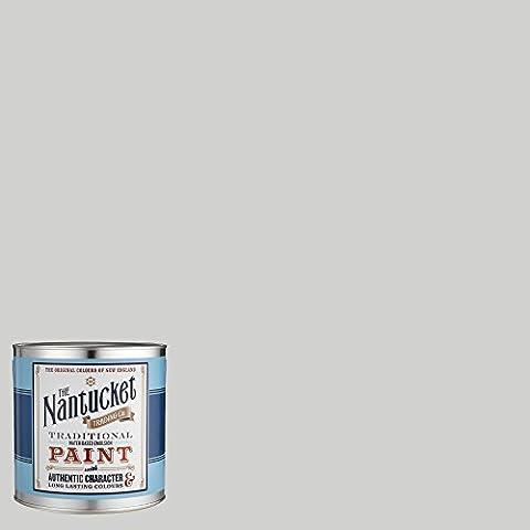 Nantucket Authentic American Matt - Vernice per pareti interne, emulsione a base d'acqua, colore: cliffside (Emulsione Di Vernice)