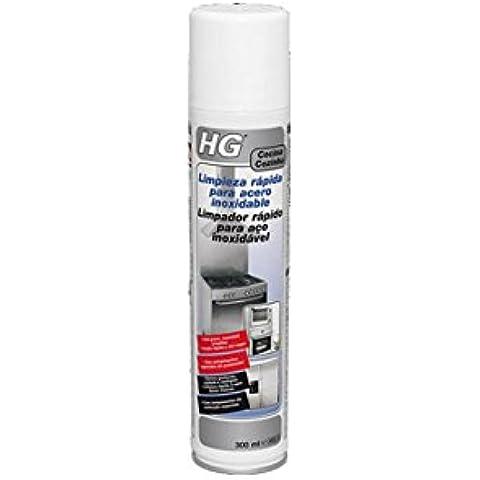 Hg  - Limpiador Rapido Acero Inox 300 Ml