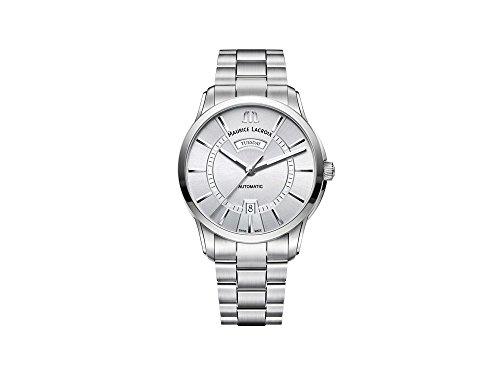 Maurice Lacroix PONTOS DAY DATE PT6358-SS002-130-1 Reloj Automático para hombres Clásico & sencillo