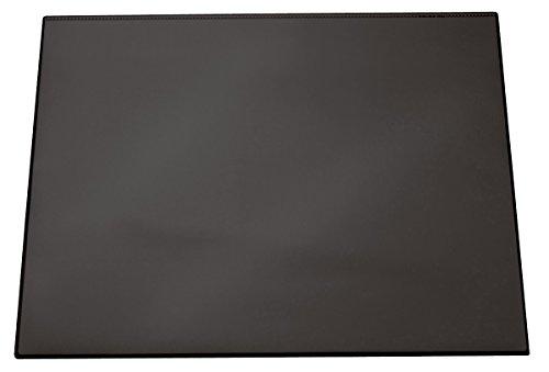 Durable 720301 Schreibtischunterlage (mit transparentem Overlay, 700 x 500 mm) 1 Stück schwarz