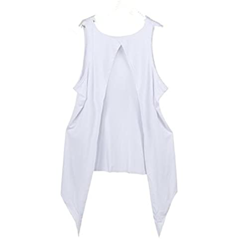 Tongshi Verano de las mujeres chaleco de la tapa de la blusa sin mangas tapas del tanque ocasionales de la camiseta