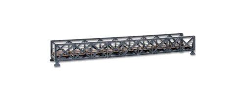 Kibri 39702 - H0 ponte in acciaio truss singola (Acciaio Per Scale Ferroviaria)