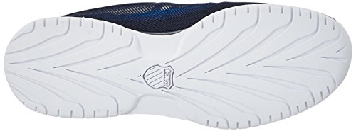 K-Swiss Rinzler Trainer, Sneakers Basses Homme Bleu (Navy/white/flash Green)
