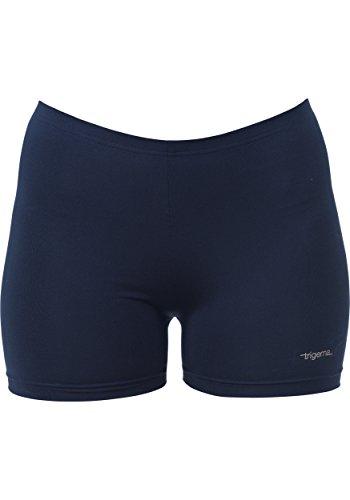 Trigema Kurze Hose - Short De Sport - Femme Blue - Blau (navy 046)